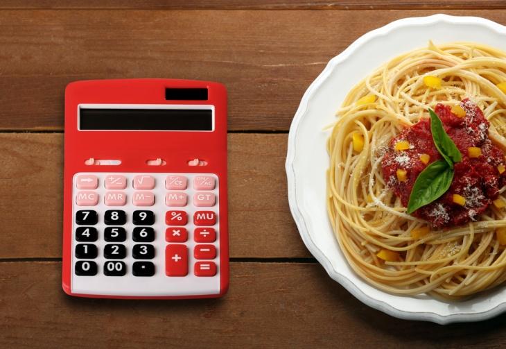 О точности подсчета калорий