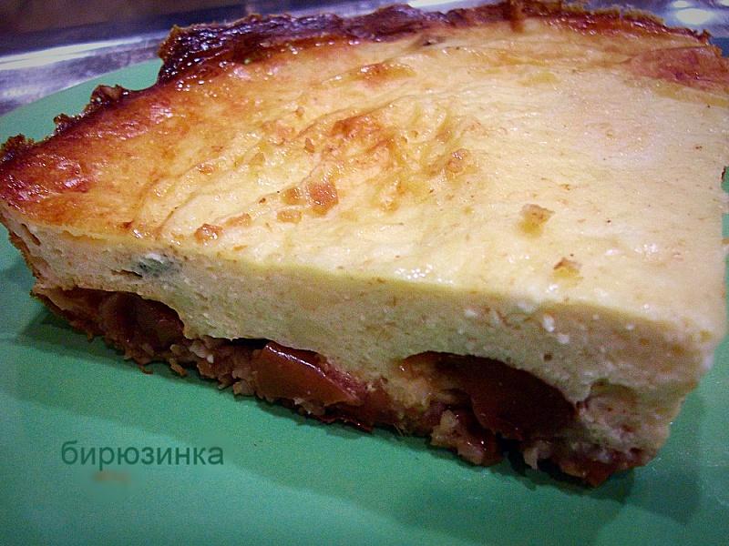 Творожно-яблочный пирог рецепт в мультиварке